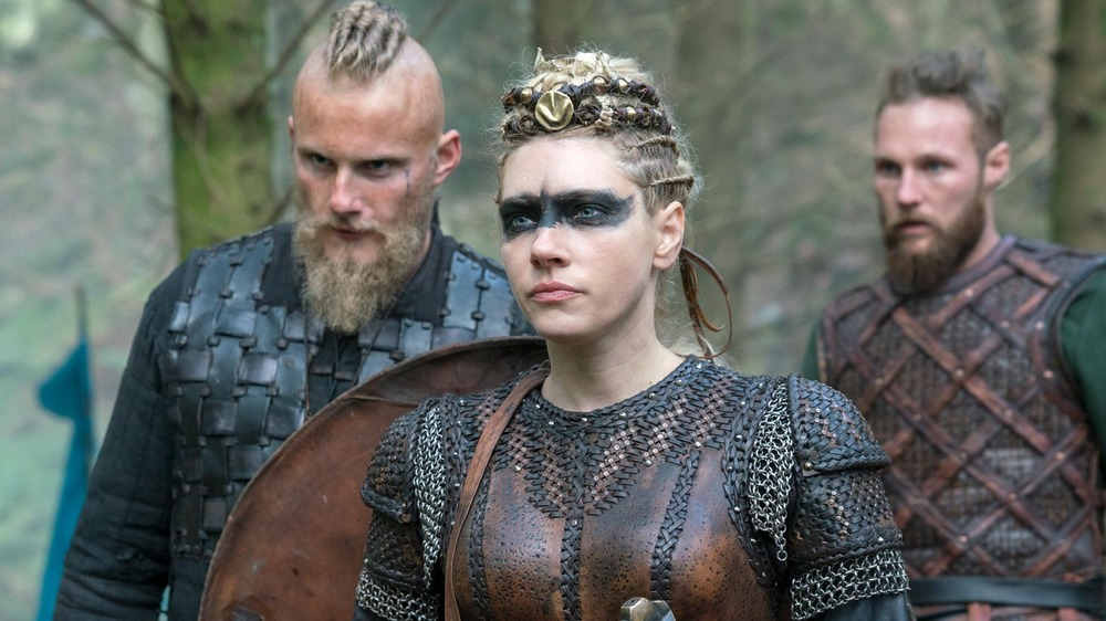 Lagertha and crew.