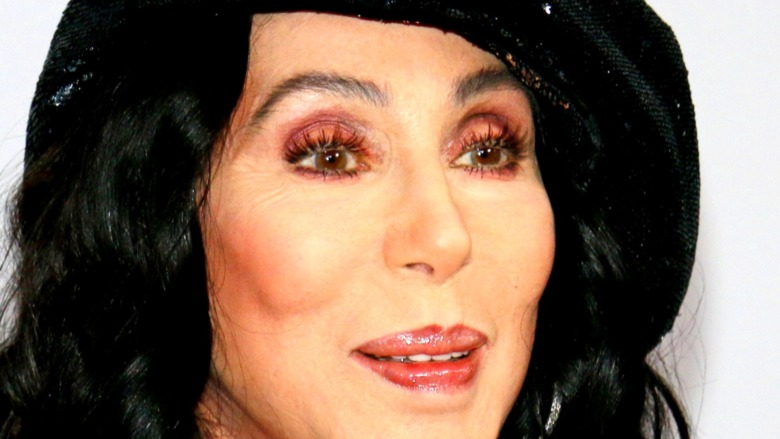Cher smiling