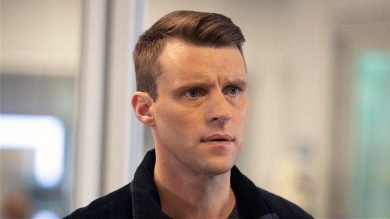 Matt Casey looking worried