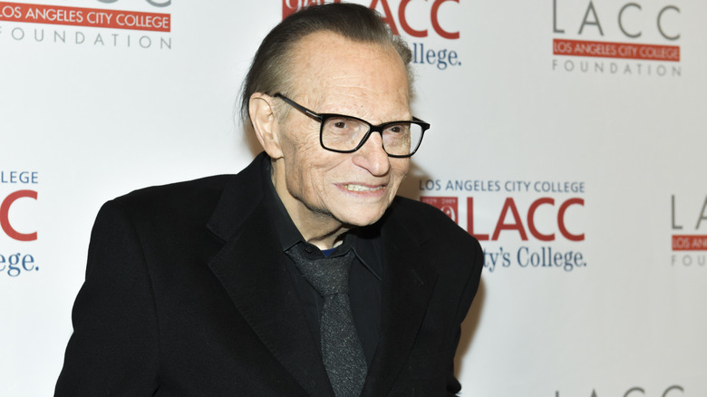 Larry King at LA City College