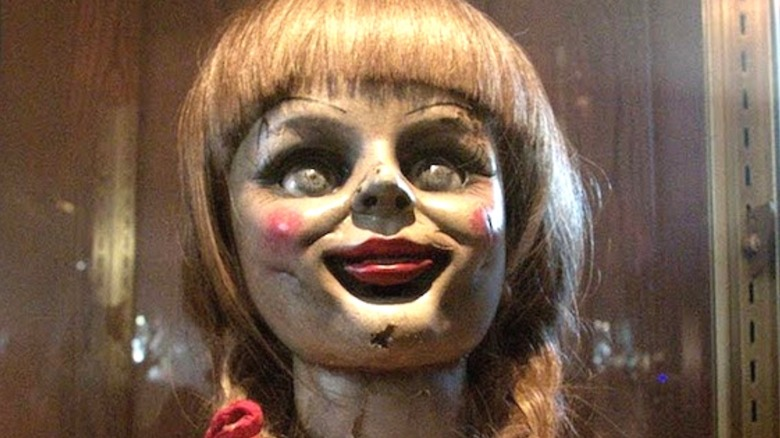 Annabelle creepy doll