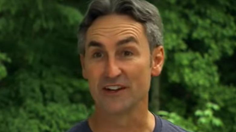 Mike Wolfe talking