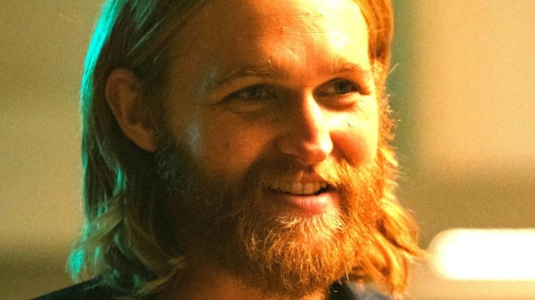 Wyatt Russell smiles
