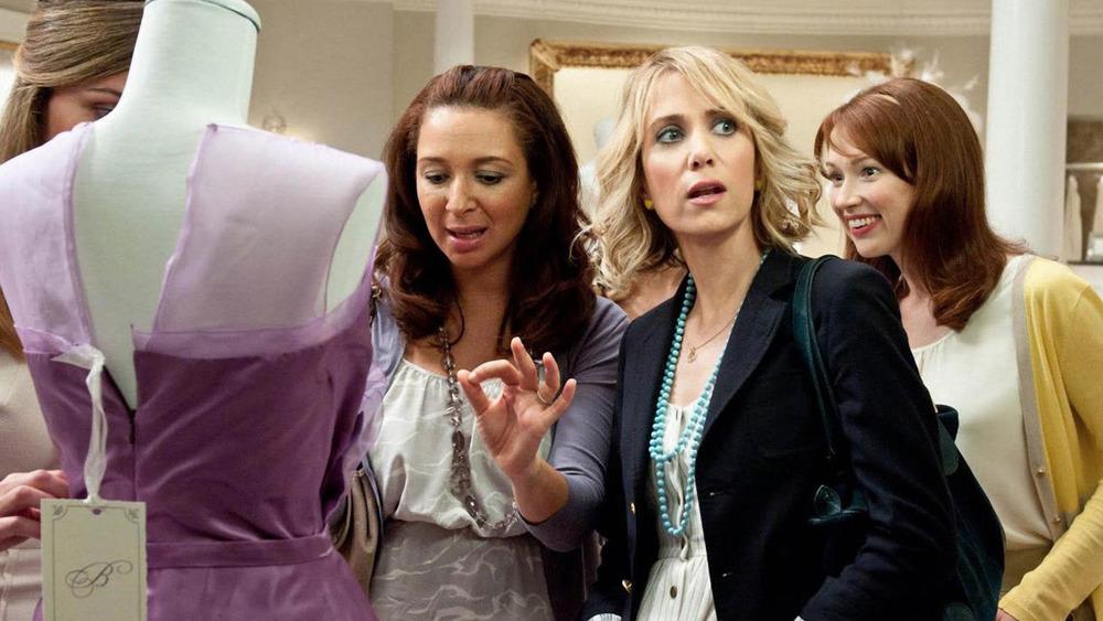 Kristen Wiig and Maya Rudolph in Bridesmaids
