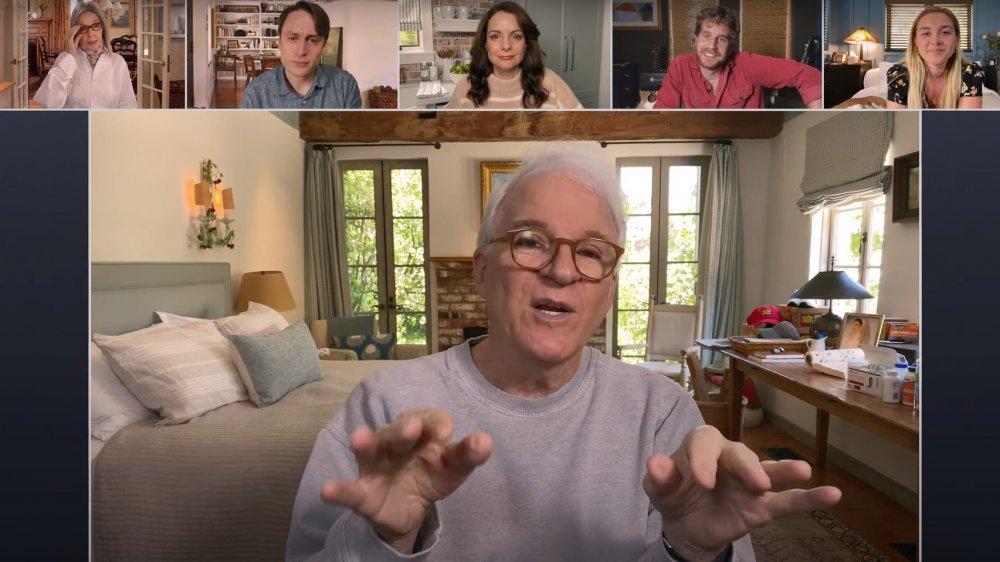 Steve Martin, Diane Keaton, Kieran Culkin, et al in Father of the Bride Part 3(ish)