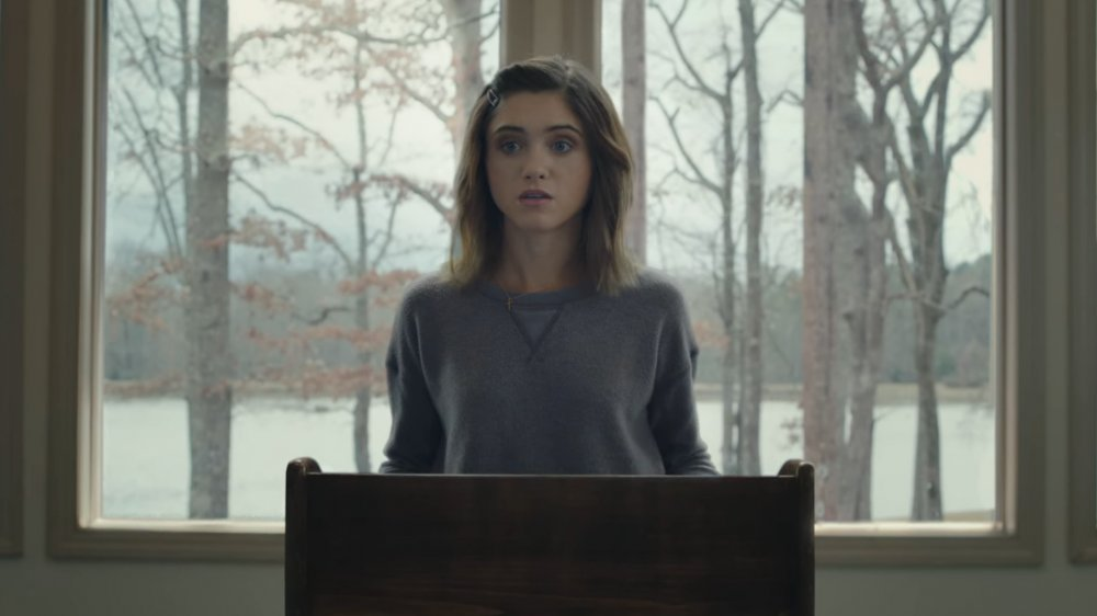 Natalia Dyer as Alice in Yes, God, Yes