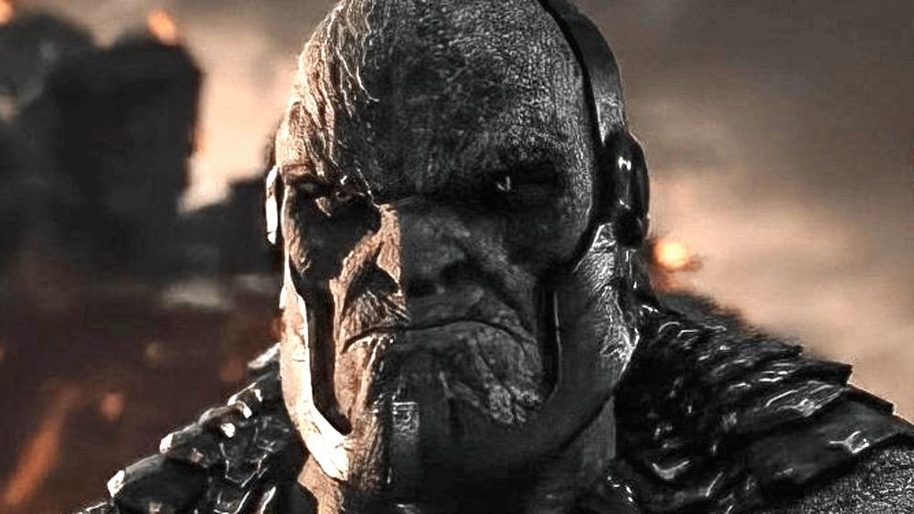 Darkseid looks menacing