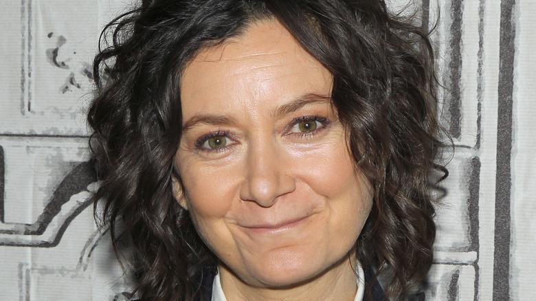 Actress Sara Gilbert