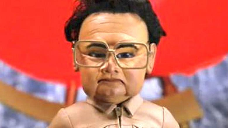 Kim Jong-Il as a puppet