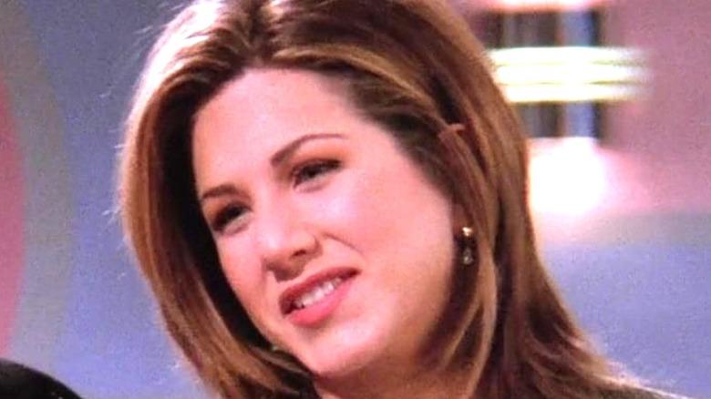 Rachel tilting her head