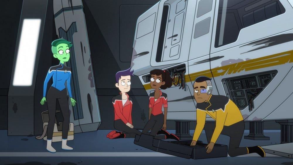 "Star Trek: Lower Decks episode ""Veritas"""