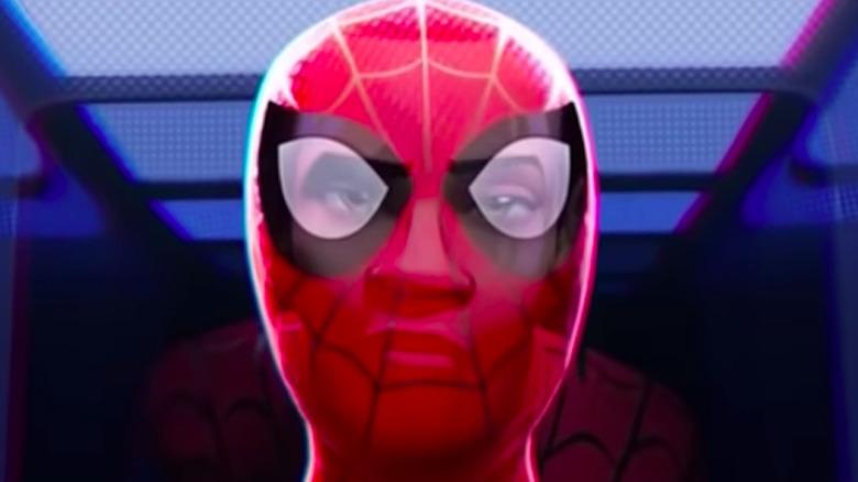 Spare Spider-Man suit