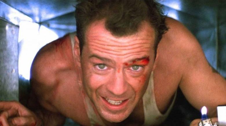 John McClane with lighter