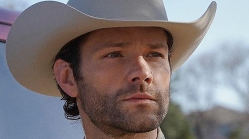 Walker in cowboy hat