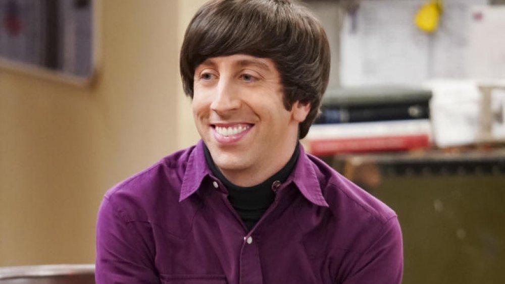 Simon Helberg as Howard Wolowitz on The Big Bang Theory