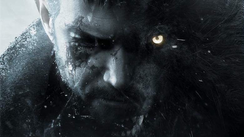 Chris Redfield and werewolf