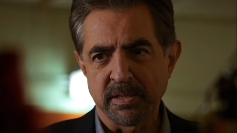 Rossi Criminal Minds looking serious