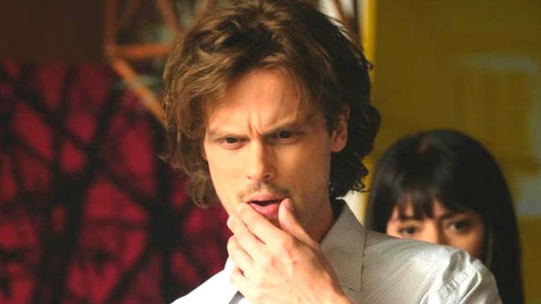 Spencer Reid thinking