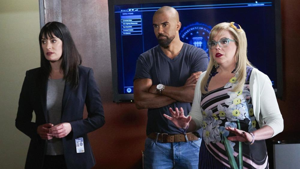 Prentiss, Morgan, and Garcia looking worried