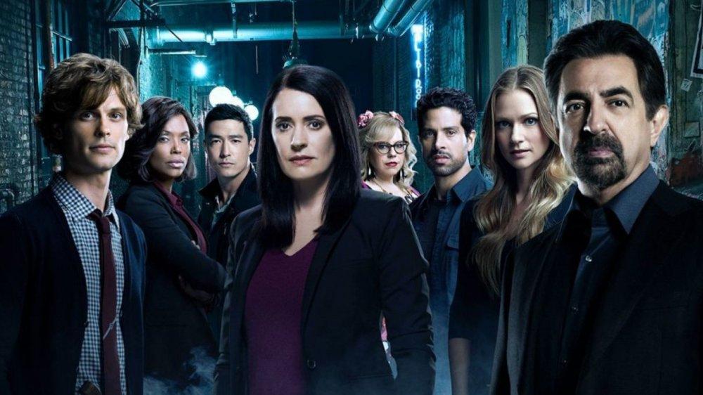 A promo cast image for Criminal Minds