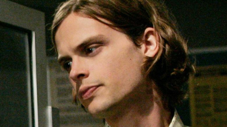 Spencer Reid long hair