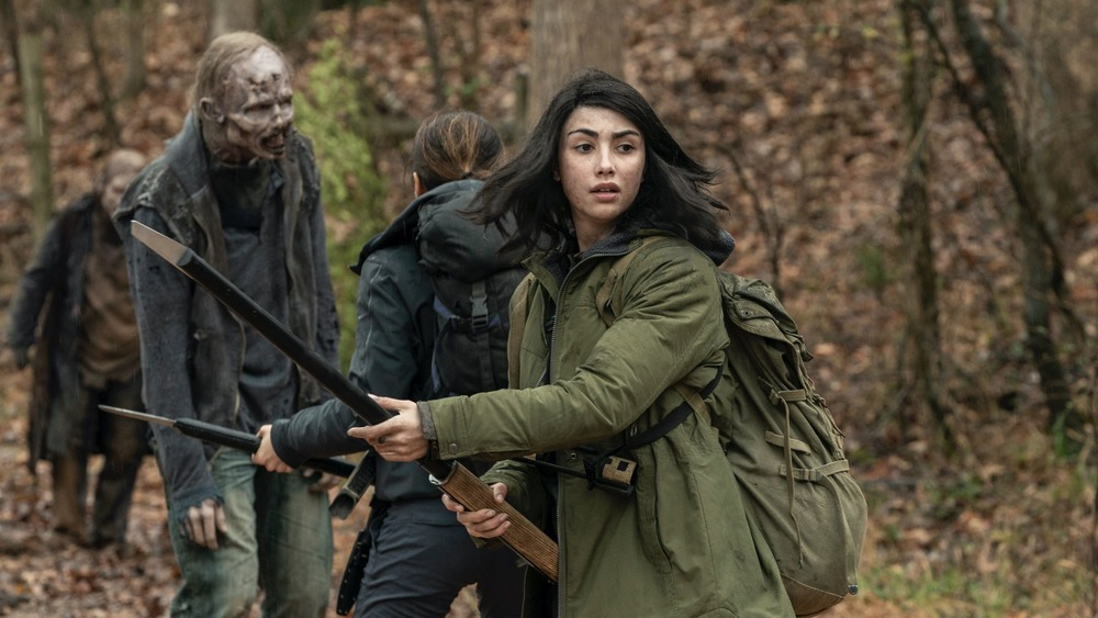 Alexa Mansour plays Hope on The Walking Dead: World Beyond