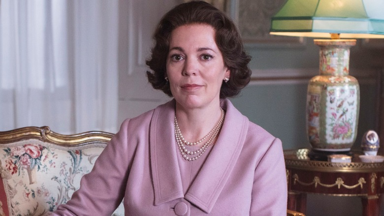 Olivia Coleman as Queen Elizabeth on The Crown