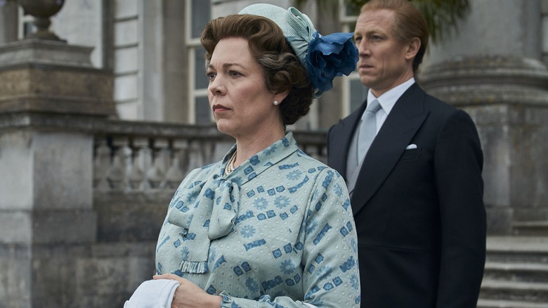 Olivia Colman as Queen Elizabeth II on The Crown