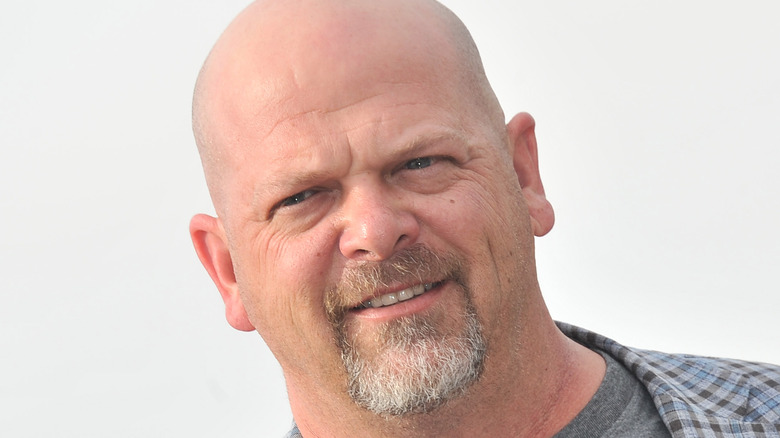 Rick Harrison squinting and smiling