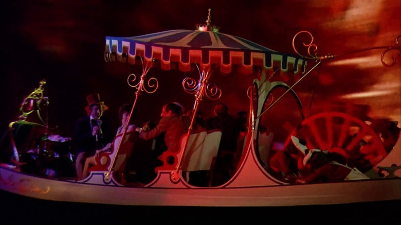 Scene from Willy Wonka and the Chocolate Factory