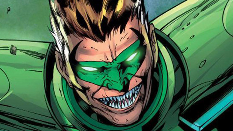 Green Lantern possessed by Parallax