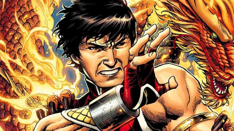 Shang-Chi fighting pose