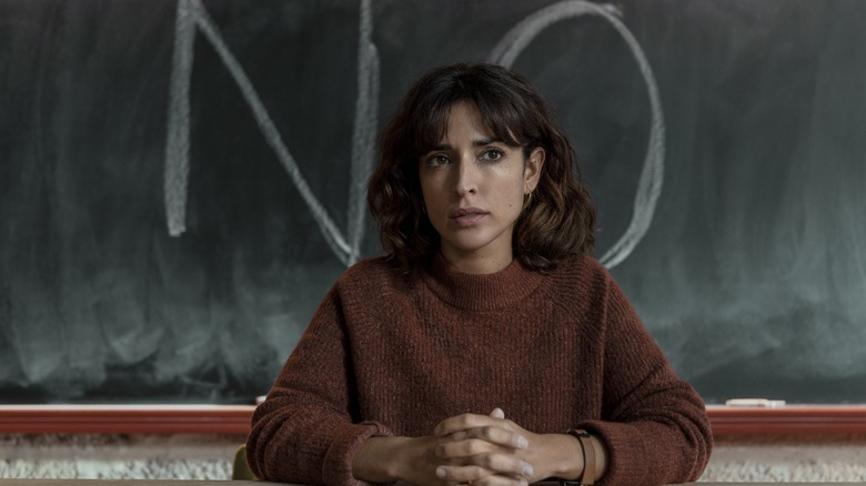 Inma Cuesta as Raquel on The Mess You Leave Behind