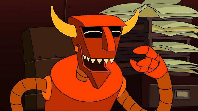 The Robot Devil on Futurama