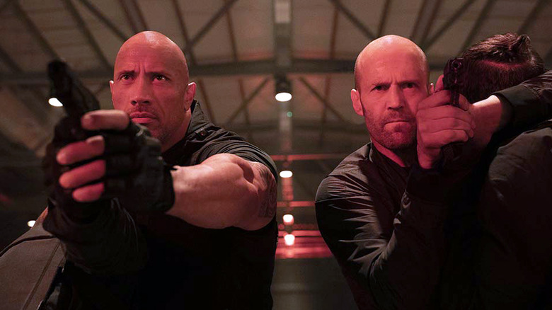 Fast and Furious Presents Hobbs and Shaw Dwayne The Rock Johnson and Jason Statham