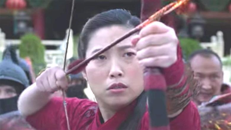 Arrow scene in 'Shang-Chi'