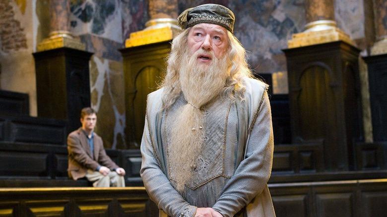 Albus Dumbledore speaking
