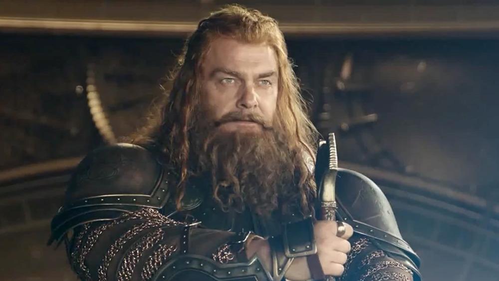 Ray Stevenson as Volstagg in Thor: The Dark World