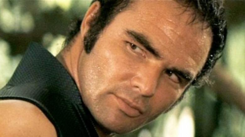 Burt Reynolds stares in Deliverance