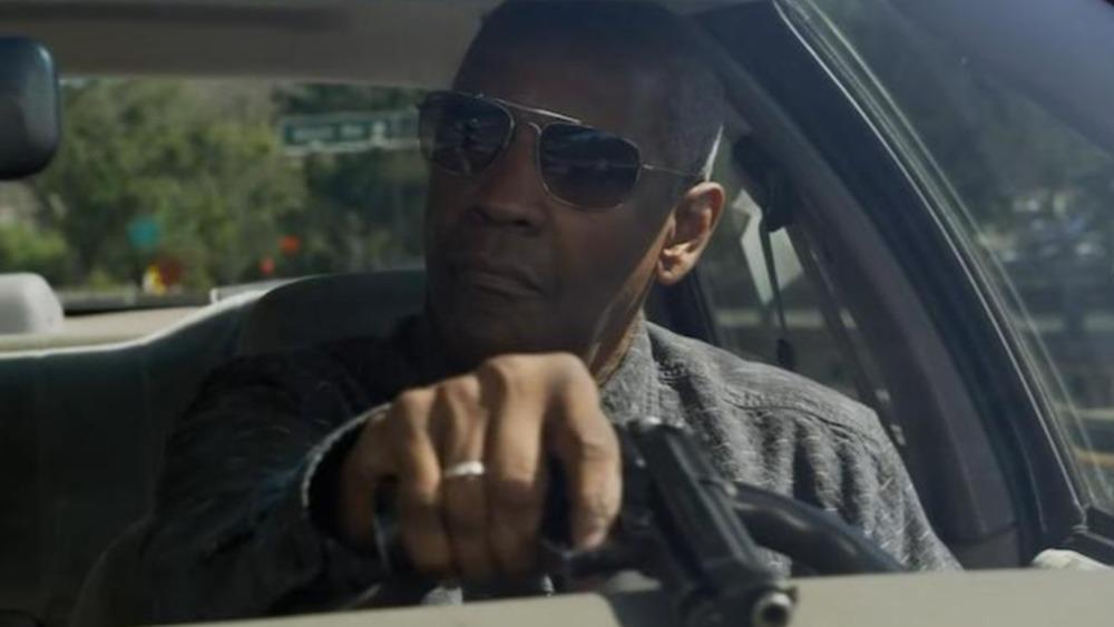 Joe Deacon in his car