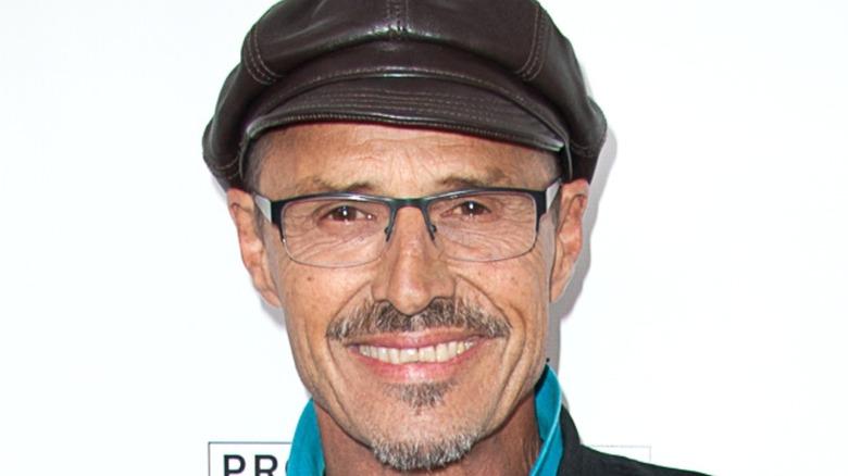 Michael Nader smiling