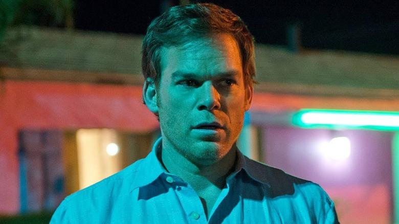 Dexter Morgan worried