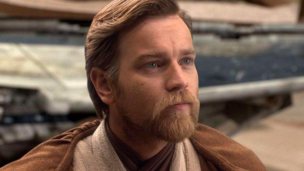 Ewan McGregor as the Jedi Master Obi-Wan Kenobi