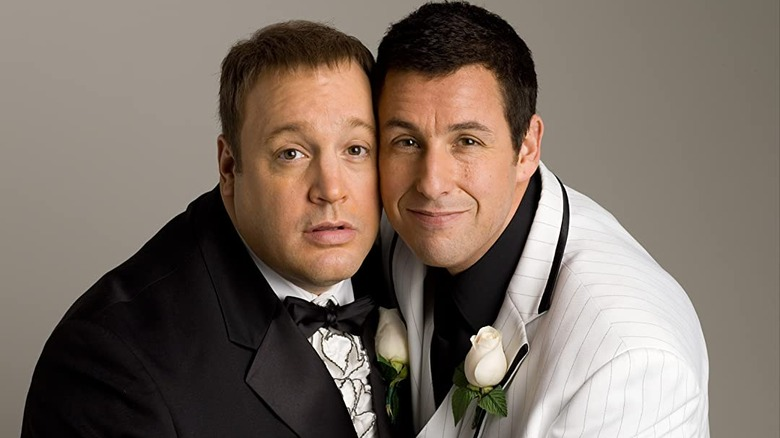 Adam Sandler and Kevin James in I Now Pronounce You Chuck & Larry