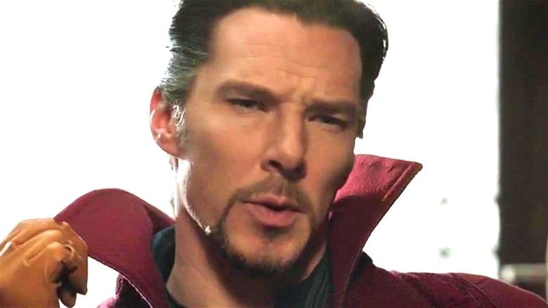 Doctor Strange popped collar