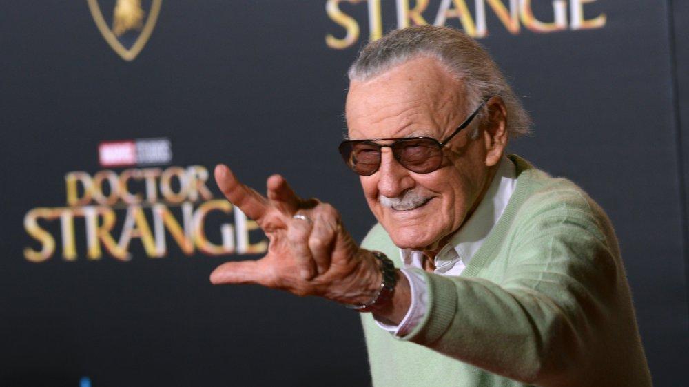Stan Lee at the Doctor Strange premiere