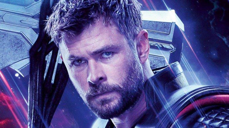 Chris Hemsworth Thor Avengers Endgame poster