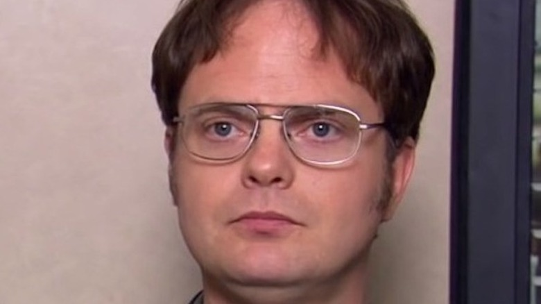 Dwight Schrute during interview