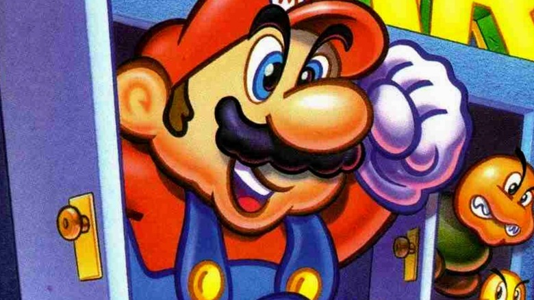 Hotel Mario art