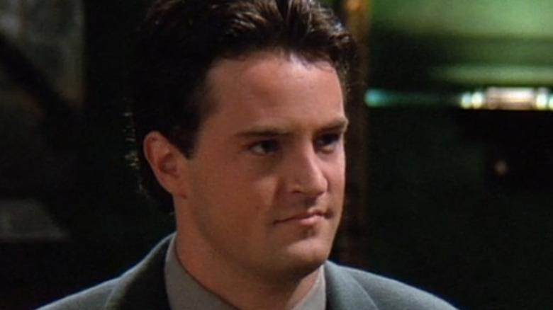 Chandler at restaurant